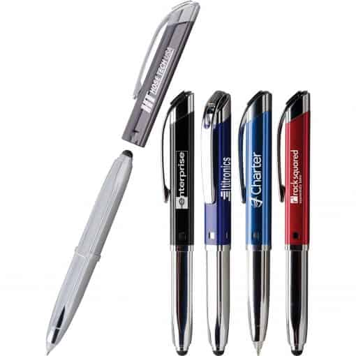 QuadTri (TM) Triple Function Pen
